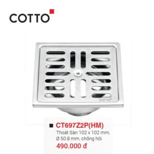 phễu thu sàn cotto CT697Z2P(HM)