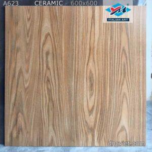 gạch lát nền giả gỗ a623
