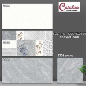 bộ gạch ốp tường 30x60 catalan 3643