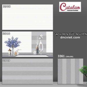 Bộ gạch ốp tường 30x60 catalan 3908