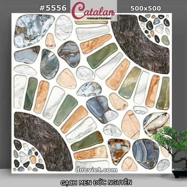 gạch lát sân vườn 50x50 catalan 5556