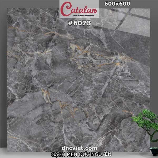 gạch vân đá lát nền 60x60 catalan mã số 6073