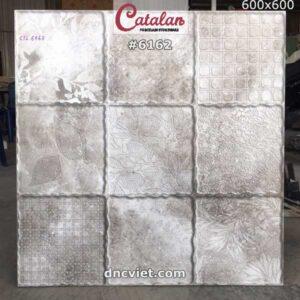 gạch lát sân vườn 60x60 giả cổ catalan 6162
