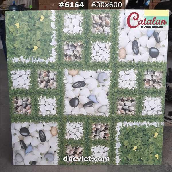 gạch lát sân vườn giả cỏ 60x60 catalan 6164