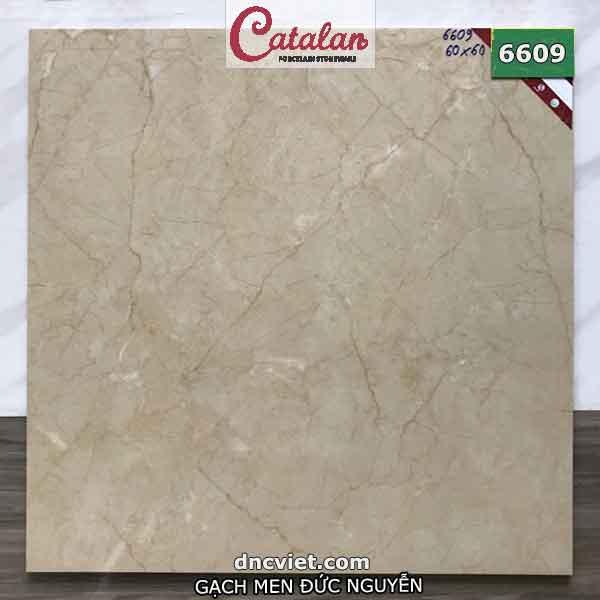 gạch lát nền catalan 60x60 mã số 6609