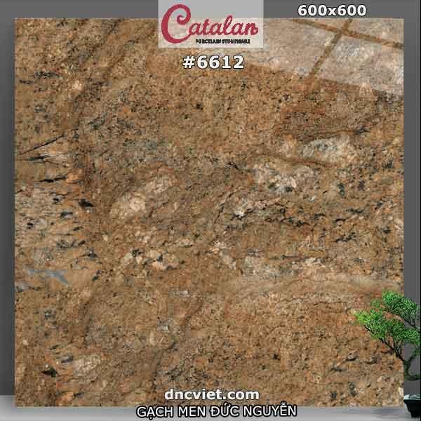 gạch lát nền 60x60 catalan mã số 6612