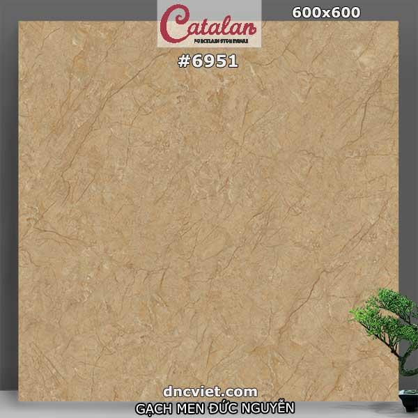 gạch lát nền 60x60 catalan 6951
