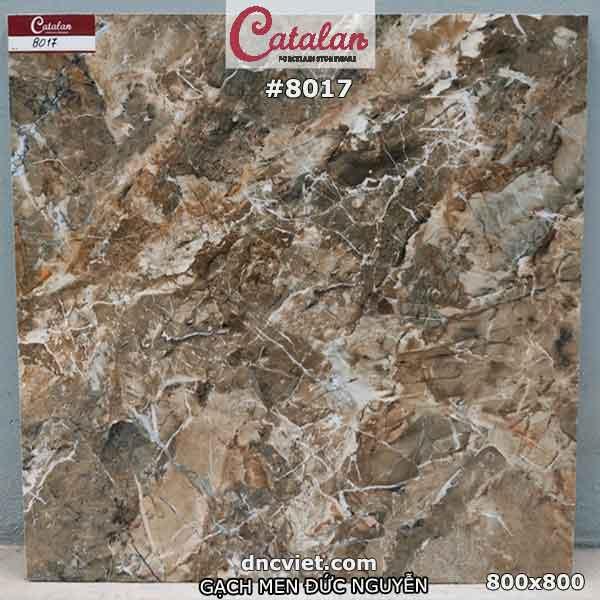 gạch ốp mặt tiền 80x80 catalan 8017