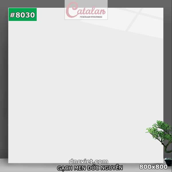 gạch lát nền trắng bóng kiếng catalan 8030