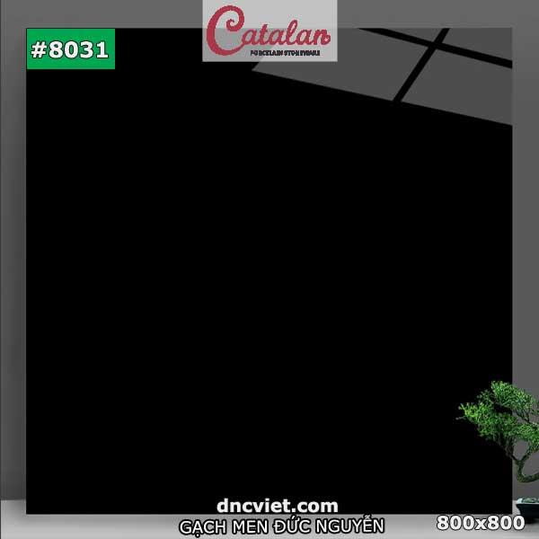 gạch lát nền đen bóng kiếng catalan 8031