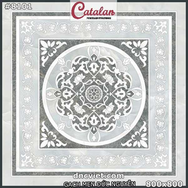 gạch thảm lát nền 80x80 catalan 8101