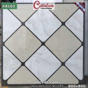 Gạch thảm 80x80 lát nền catalan 8103