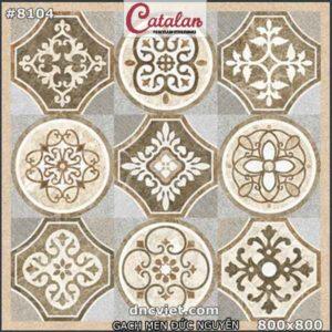 gạch thảm trang trí sảnh catalan 8104