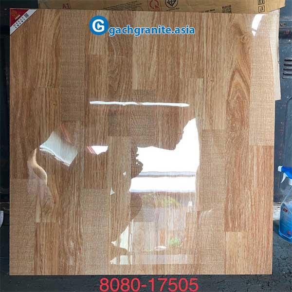 gạch giả gỗ 80x80 prime 17505