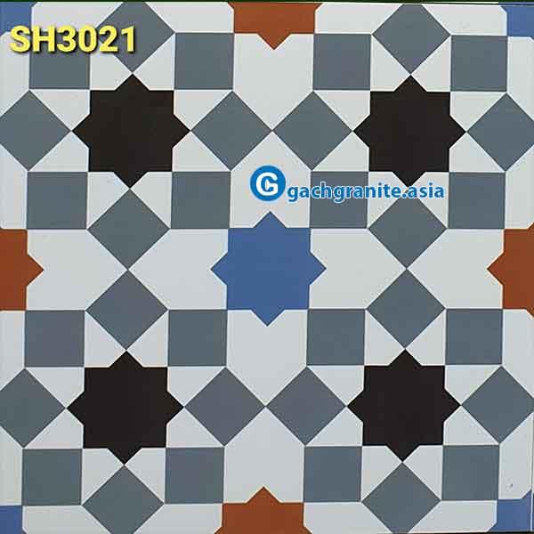 gạch bông lát nền 30x30 3021