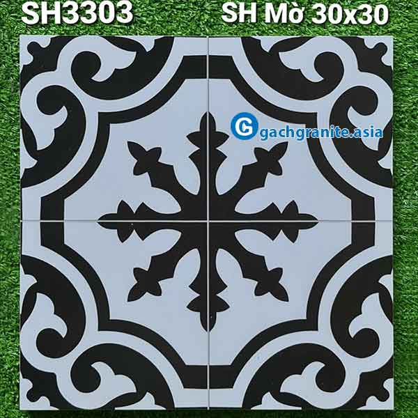 gạch bông lát nền 30x30 3303