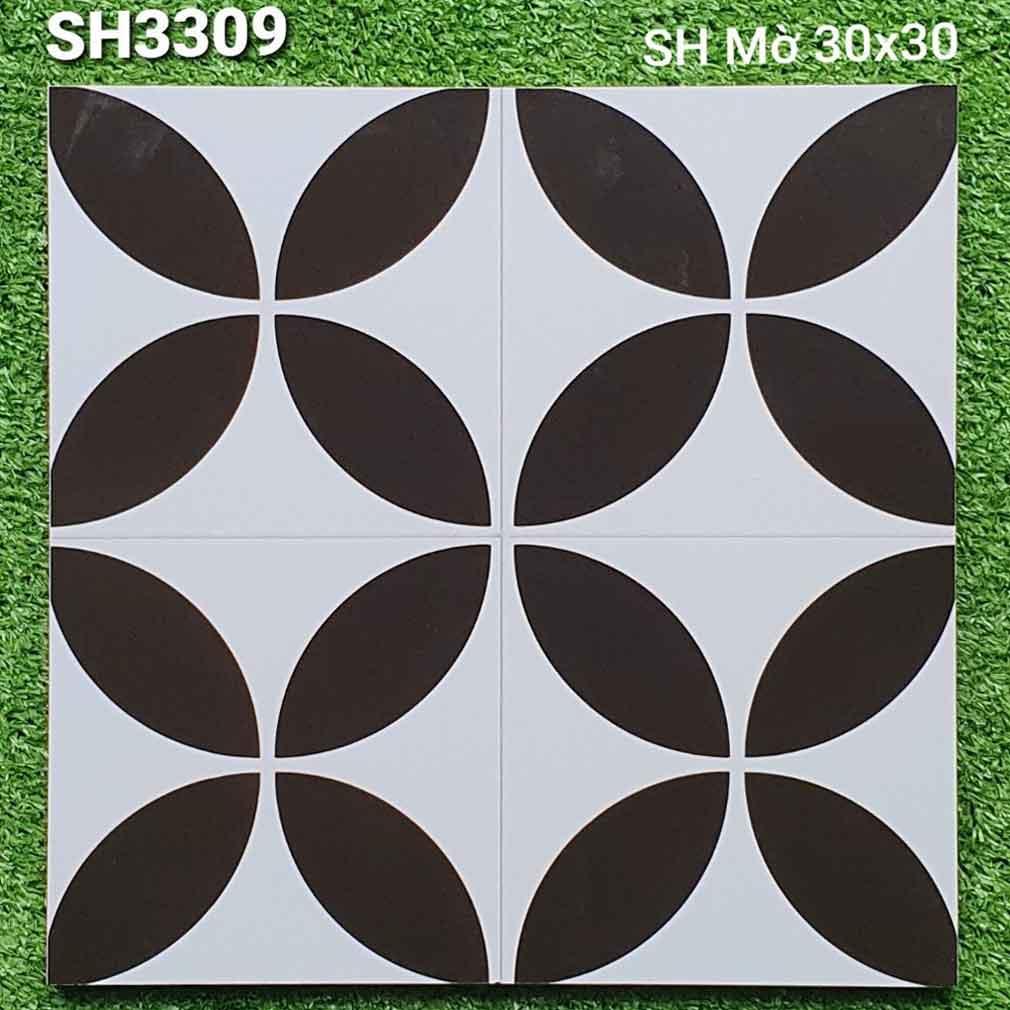 gạch bông ốp sàn 300x300 sh3309