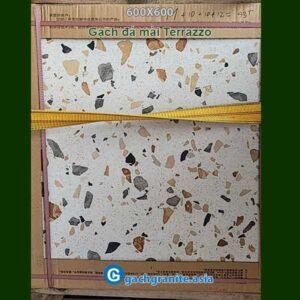 Gạch đá mài Terrazzo 600x600 6008