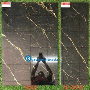 gạch đen vân vàng 600x900 prime 8008