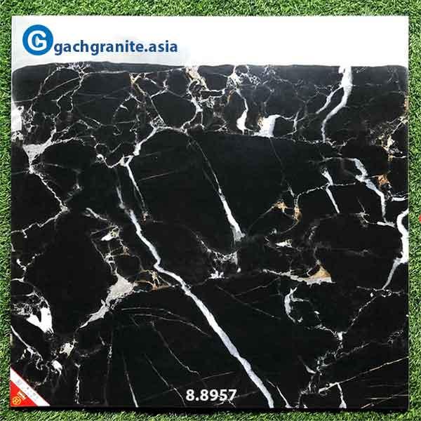 Gạch 80x80 vân đá đen chớp cao cấp prime 8957